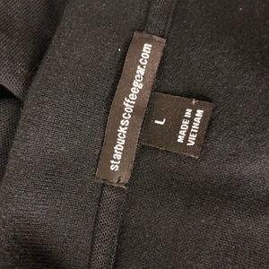 Starbucks Shirts - Starbucks Coffee Polo Shirt Large Black Short S/S
